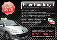 business image of Peter Boothroyd School Of Motoring