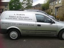business image of Painters/Decorators Swindon. A.Martin