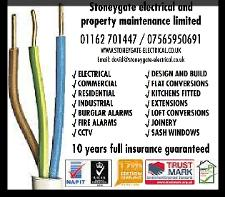 business image of Stoneygate Electrical And Property Maintenance Limited