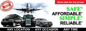 Coventry Taxis Long Distance Service | Airport Transfers