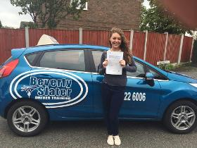 Driving Lessons Stockport - Beverly Slater Driver Taining