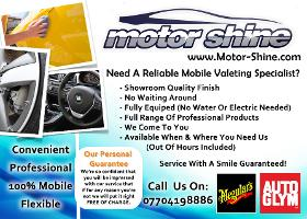Motor Shine - Professional Valeting & Detailing Specialists