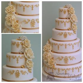 Sweetness Delight Wedding Cakes