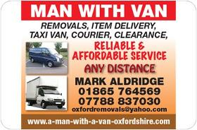 Oxfordshire Removals Man With A Van