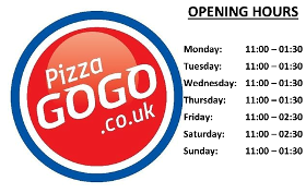 Pizza Gogo Take Away Meal Outlets In Coventry Cv1 5ea
