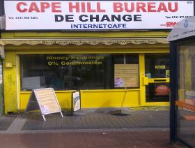 cape hill bureau de change ltd bureau de change in